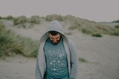 Adventures in the sand dunes with the Nautical Life t shirt, Gnarly Tree Clothing.
