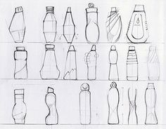 Ideas pet bottle design tutorials for 2019 Basic Drawing, Technical Drawing, Fashion Design Sketches, Sketch Design, Bottle Drawing, Thumbnail Design, Industrial Design Sketch, Folder Design, Water Bottle Design