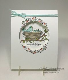 2018 Stampin' Up! Occasions catalog sneak peek featuring the Flying Home stamp set and the Charming Cafe bundles.