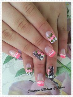 Fun Nails, Nail Ideas, Nail Art, Bar, Stickers, Finger Nails, Hand Designs, Nail Decorations, Pedicures