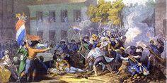La Revolución de 1789 turvo una gran repercusión en la indumentaria. Las suntuosas y abigarradas prendas de vestir características de la aristocracia fueron sustituidas por otras más sobrias y ligeras