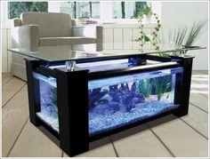 Amazing Interior Design Fish Tank Tables...They Hold Alive Tranquility! » Amazing Interior Design