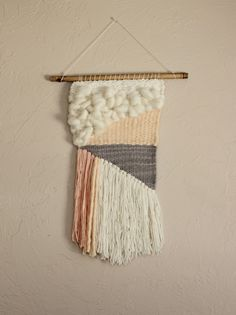 Woven Tapestry Wall Hangings arlo | woven tapestry | wall hanging | weaving #weaving #tapestry