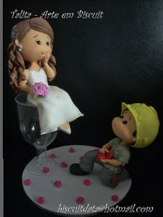 He just proposed, but she is more than  ready to walk the aisle right away...just give him some time to get a tux !....<3