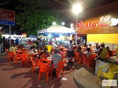 Acarajé de Cira em Itapuã, Salvador, Bahia.