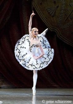 "Alina Somova in ""Don Quixote"". Beautiful except for her hands!!!! Ugh she never got over the first day of ballet"