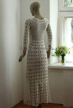 Ideas for wedding rustic dress lace boho Crochet Wedding Dresses, Crochet Bodycon Dresses, Crochet Lace Dress, Maxi Dress Wedding, Knit Dress, Lace Maxi, Dress Lace, Rustic Wedding Dresses, Trendy Wedding