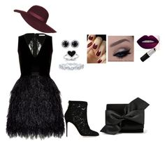"""""""black pride"""" by linda-mabaso on Polyvore featuring Alice + Olivia, Victoria Beckham, Kevin Jewelers, Dolce&Gabbana, Harry Winston, Topshop, women's clothing, women, female and woman"""