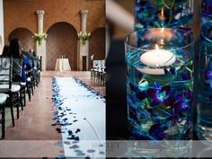 Blue orchids! This will be the theme/colors of my wedding