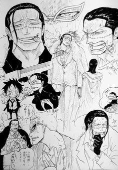 お湯屋 (@kitunoyuusi) Sir Crocodile, One Piece Pictures, Comic Games, Manga Drawing, Anime Comics, Manga Anime, Religion, Photo Wall, Fan Art
