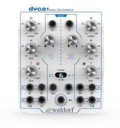 Waldorf DVCA1 Dual VCA Module Eurorack