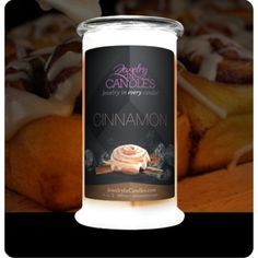 """Home Sweet Home! Feel right at home with these luxurious scents that have a touch of modern flair. Our Home Sweet Home candles infuse any room with evocative scents that lasts for hours and bring the comfort of """"home"""" to any space.  ~ Cinnamon Jewelry Candle  #candles #jewelryincandles"""