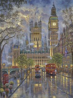 The Palace Westminster London