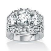 Found+it+at+Wayfair+-+Sterling+Silver+Cubic+Zirconia+WoMen's+Ring+Set