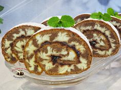 Rolada Huragan Polish Recipes, Tiramisu, Deserts, Food And Drink, Pudding, Sweets, Baking, Breakfast, Cake