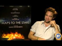 ▶ Rob Pattinson's 'Maps To the Stars' TIFF Press Junket with Entertainment City - YouTube
