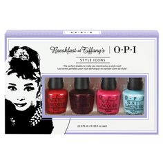 Beauty Gifts They'll Fight Over at Your White Elephant Party - $15 and Under: OPI Breakfast at Tiffany's Nail Polish Set from InStyle.com