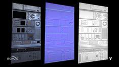 ArtStation - Destiny - Human Colony Tech Trim Texture, Ethan Scheu