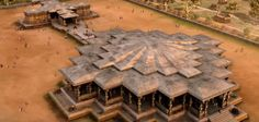 Thousand Pillar Temple Warangal 3d