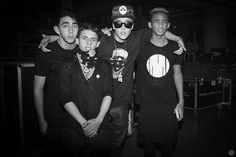 Jaden Smith Justin Bieber Mateo and Moises Arias
