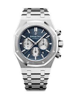Audemars Piguet Royal Oak Chronograph -steel, blue dial