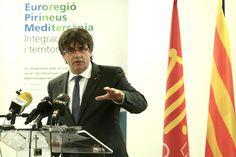 """President Puigdemont: """"És insòlit que l'Executiu espanyol respongui una carta enviada al legislatiu, hi ha un problema de democràcia i de confusió de poders"""""""