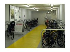 bicycle parking metro