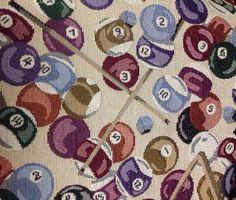 Shopping Girl Upholstery Fabric Preppy Girl Shopper Home Decor