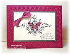 Card Creations by Beth: Card Buffet Sample