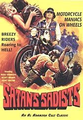 Satan's Sadists  - FULL MOVIE - Watch Free Full Movies Online: click and SUBSCRIBE Anton Pictures  FULL MOVIE LIST: www.YouTube.com/AntonPictures - George Anton -   BIKER CHICKS and WILD CYCLE GANGS! AL ADAMSON  CULT CLASSIC!  45 likes, 10 dislikes