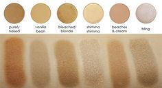 Makeup Geek Eyeshadow Pan - Beaches and Cream - Eyeshadows - Eyes
