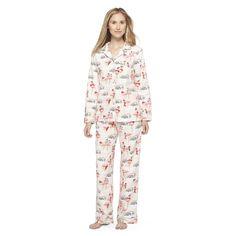 Women's Pajama Set Peach/Flamingo - Nick