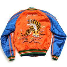 "swordandfern: "" Vintage Japan Sukajan Souvenir Jacket """