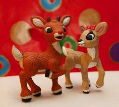 Merry Christmas from Rudolph and Clarice