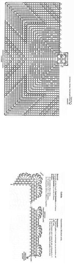 Crochet Base - Chart 30cm/30cm ❥ 4U hilariafina http://www.pinterest.com/hilariafina/