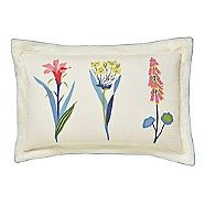 - Multicoloured cotton 'Floral Bazaar' Oxford pillow case