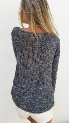 Crochet Cardigan, Knit Crochet, Jumpers For Women, Sweaters For Women, Hand Knitting, Knitting Patterns, Loose Knit Sweaters, Winter Trends, Knit Fashion