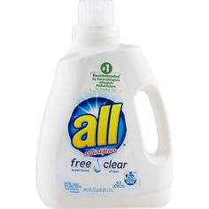 All With Stainlifters Free & Clear Detergent 94.5 FL OZ