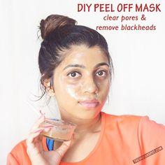 CLEAN PORES AND REMOVE BLACKHEADS