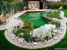 пруд для плавания