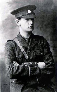 Michael Collins: a young Captain in the 1916 Rising | During the Easter Rising…