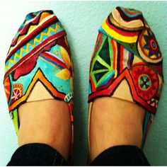 Painted Toms :)