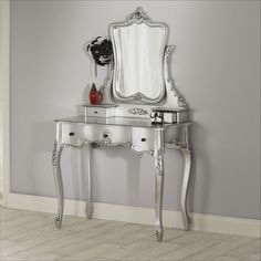 siver bedroom images | ... silver dressing table set ref la13 silver la9 silver rrp £ 699 99