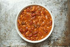 The Best Crock-Pot Baked Beans recipe by Barefeet In The Kitchen
