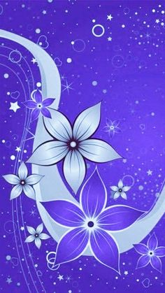 By Artist Unknown. Black Flowers Wallpaper, Flower Background Wallpaper, Flower Phone Wallpaper, Beautiful Flowers Wallpapers, Phone Screen Wallpaper, Purple Wallpaper, Butterfly Wallpaper, Locked Wallpaper, Pretty Wallpapers