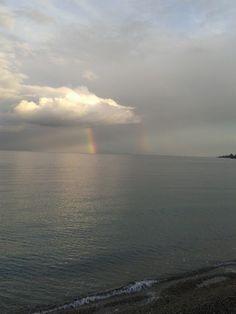 Winter rainbow...