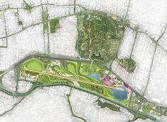 Pista Viva | Caracas Venezuela | Enlace Arquitectura World Landscape Architecture Landscape Design Plans, Landscape Architecture Design, Architecture Drawings, Architecture Plan, Landscape Plane, Landscape Drawings, Urban Landscape, Urban Design Plan, Plan Design