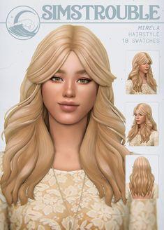 Sims 4 Mm Cc, Sims Four, My Sims, Sims 4 Traits, Pelo Sims, Sims 4 Characters, Sims 4 Game, Sims 4 Cc Finds, Sims 4 Clothing