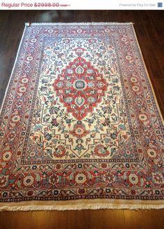 Item 2145,  Traditional Sarough Rug, 8'3 x 5'0