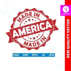 MADE IN AMERICA svg 4th of july svg cut files svg clipart